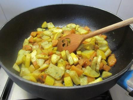 Bartjes Marokkaanse groenten